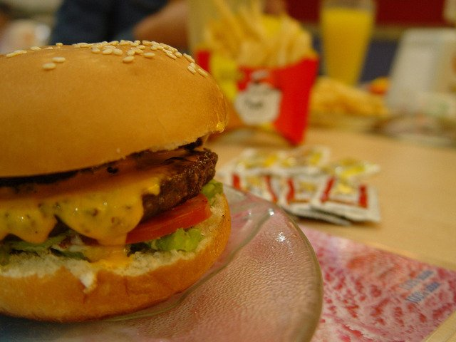 A picture of fast food that's bad for diabetics