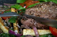 Steak and herb dish